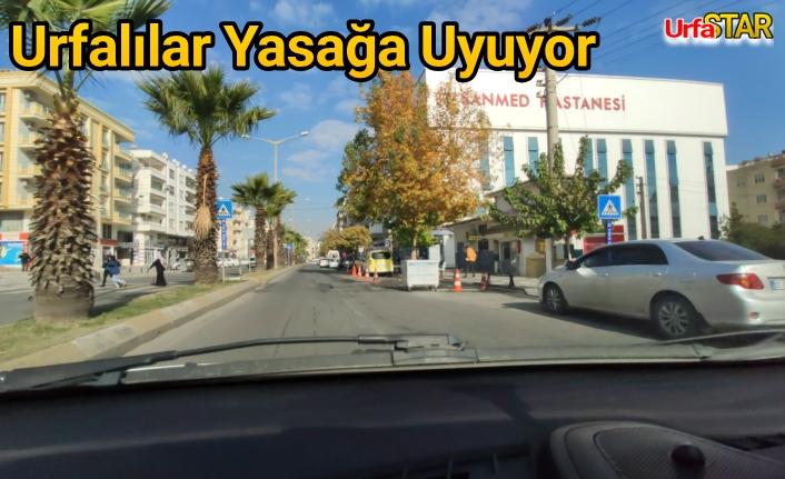 Urfa'da yasak nasıl geçiyor?