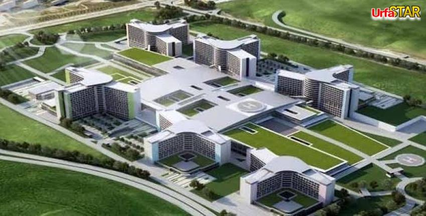 Urfa Şehir Hastanesi'ni yapacak firma belli oldu