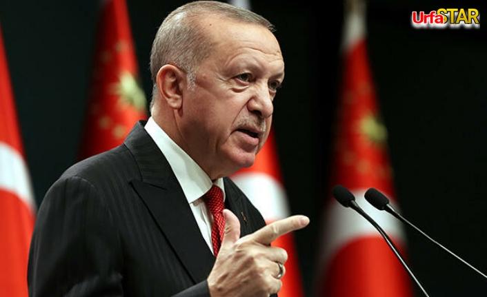 Yasağa az bir süre kala Erdoğan'dan flaş açıklama