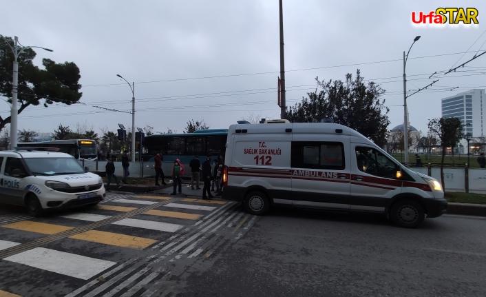 Yaya yolunda yine kaza! 1 kişi yaralandı