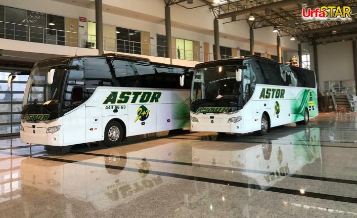 Astor, 2 yeni aracı daha hizmete koydu