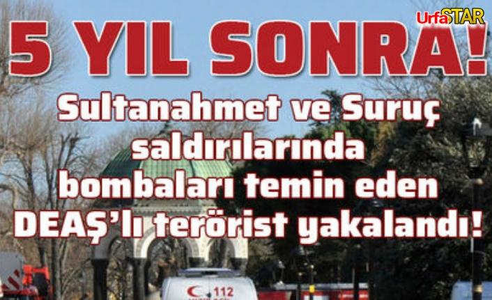 Deaşlı terörist Urfa'da yakalandı