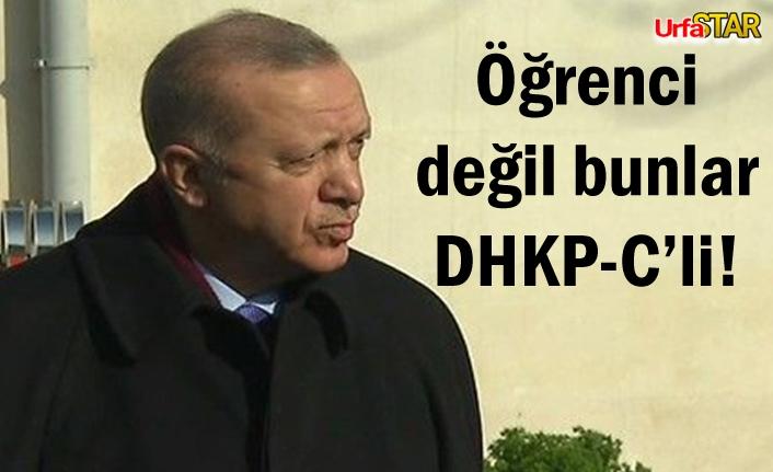 Erdoğan'dan flaş Boğaziçi açıklaması!