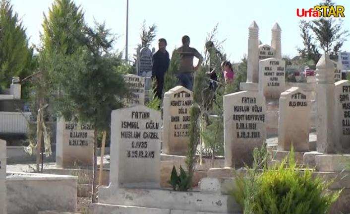 Flaş! Urfa'da yeni mezarlar açılıyor