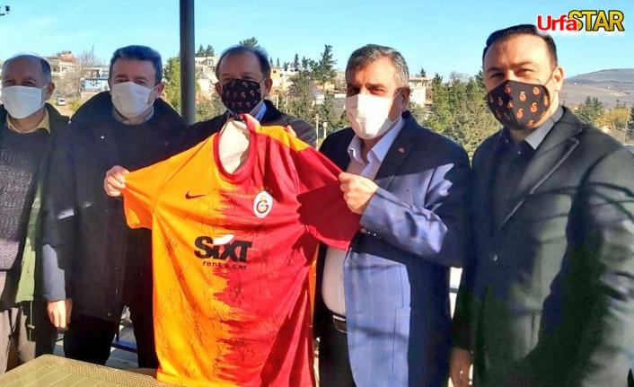 Galatasaraylı yöneticiler Urfa'da...