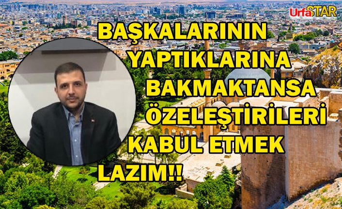 Urfa'nın kaynakları tüm Türkiye'ye yeter...