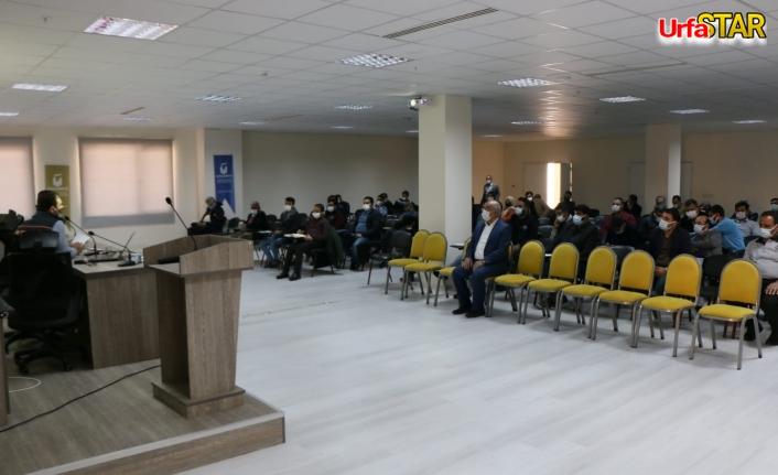 AFAD Urfa OSB'de eğitim verdi