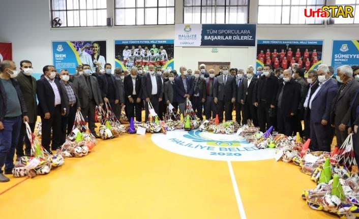 Haliliye Belediyesi'nden genç sporculara takviye