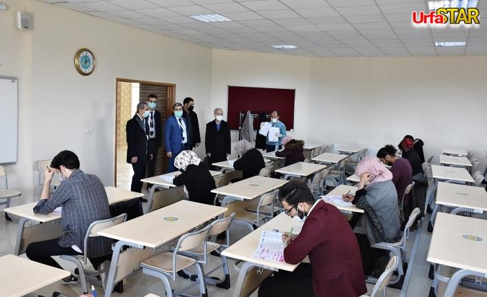 Harran Üniversitesi yabancıları sınavdan geçirdi
