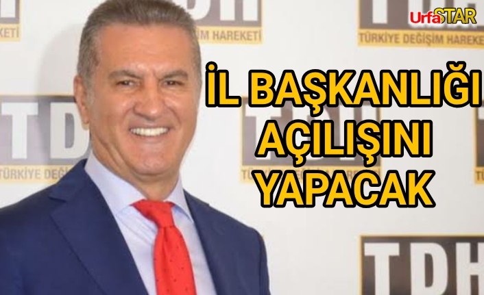 Mustafa Sarıgül Urfa'ya geliyor
