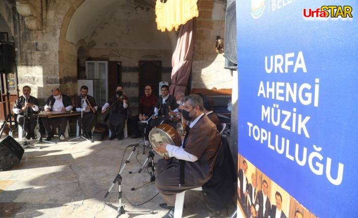 Urfa'nın tarihi mekanlarında türküler yankılandı