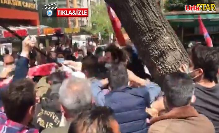 1 Mayıs'ı bahane edip polise saldırdılar