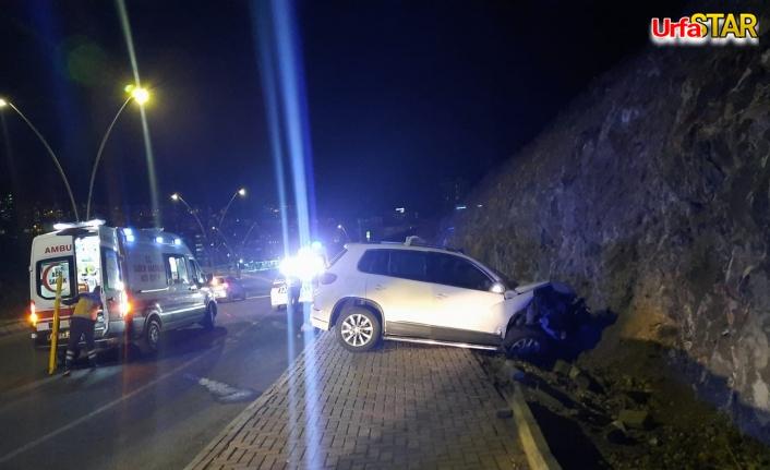 Karaköprü'de kaza! 4 kişi yaralandı