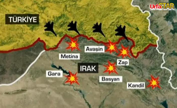 Kuzey Irak'a hava ve kara harekatı başladı