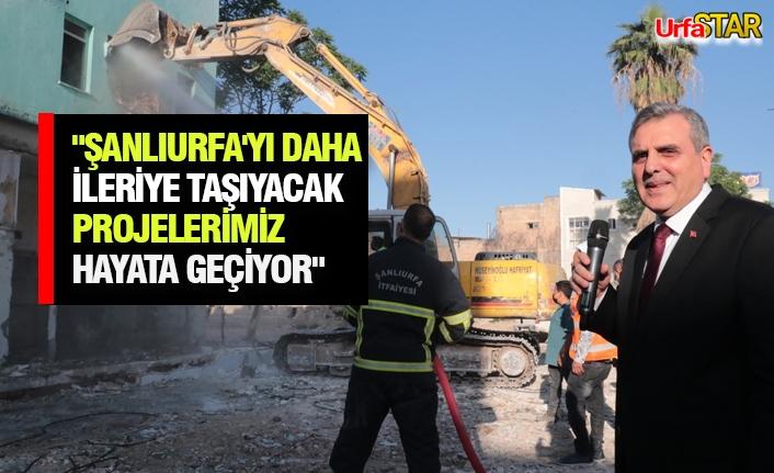 Büyükşehir'den yeni meydanlar açıklaması