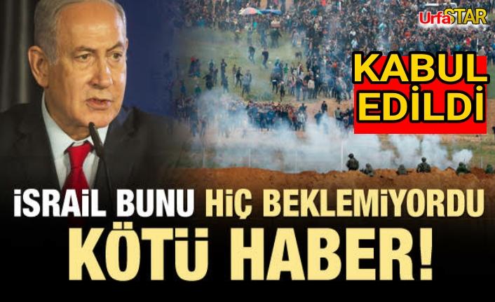 İsrail'e kötü haber...