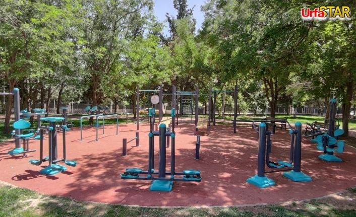 Kasaptaşı Parkı Büyükşehirin revizyonuna uğradı