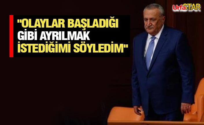 Mehmet Ağar İstifa Etti
