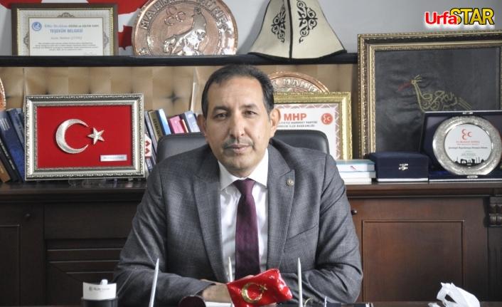 MHP'li Başkan'dan mesaj