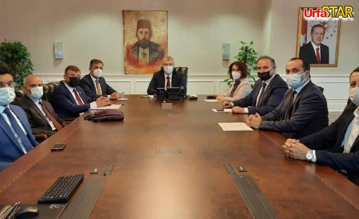 Urfa heyeti Ankara'da