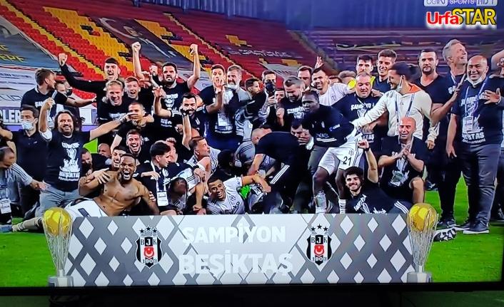 Ve son şampiyon Beşiktaş...