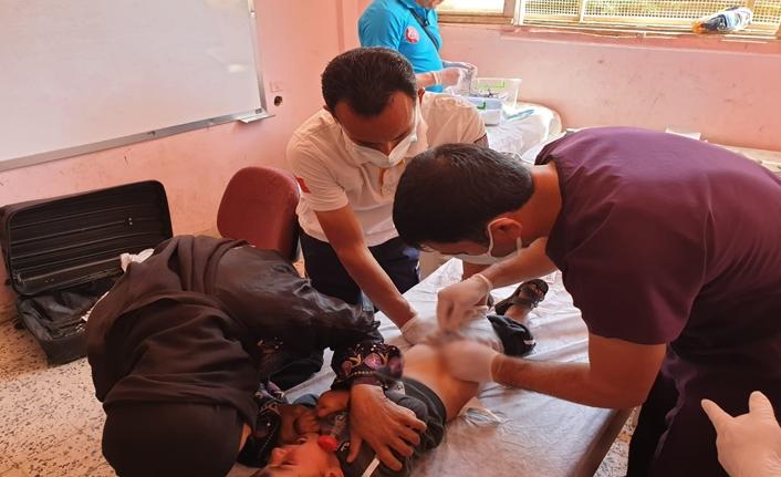 Barış Pınarı Bölgesi'nde 300'den fazla çocuk sünnet oldu