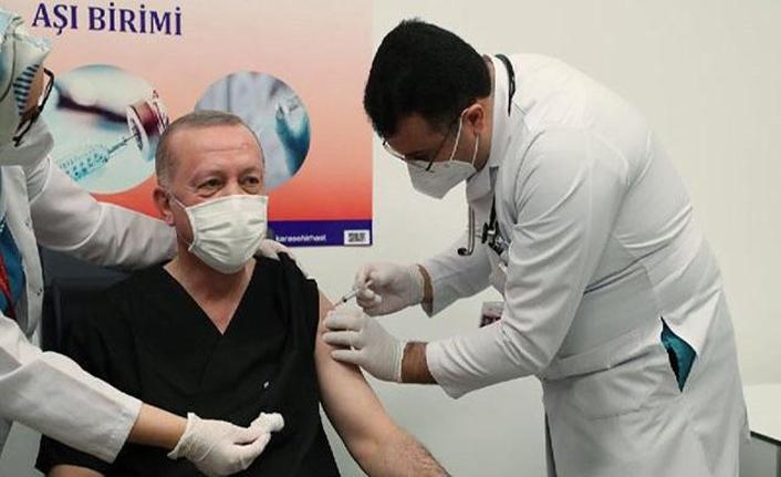 Erdoğan, olduğu aşıyı önerdi