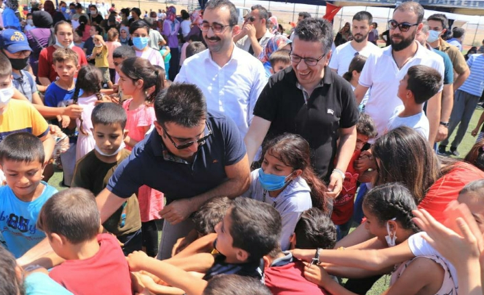 Halfeti'de çocuk şenliği düzenlendi
