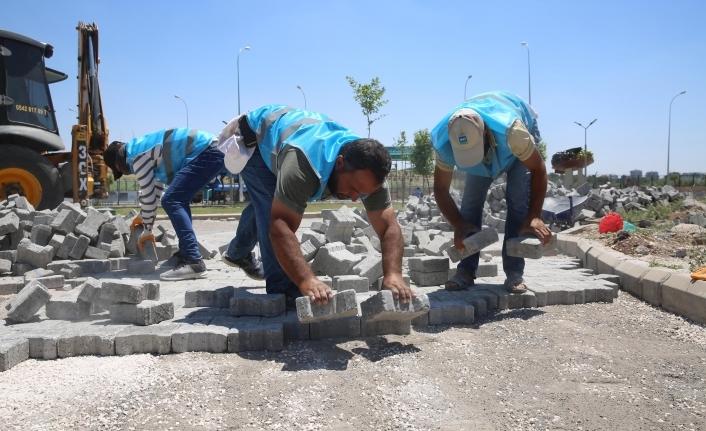 Haliliye'de 4 mahallede üst yapı çalışmaları sürüyor