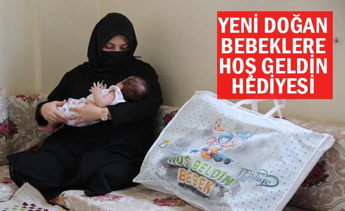 Haliliye'de 'Merhaba Bebek' projesi çalışması sürüyor