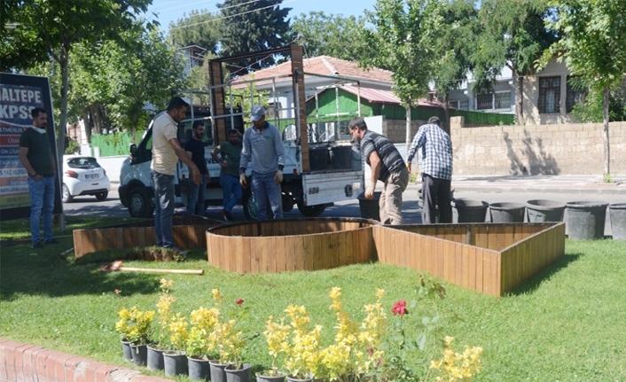Siverek'te çevre düzenleme çalışmaları sürüyor