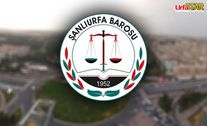 Urfa Barosu için seçim tarihleri belli oldu