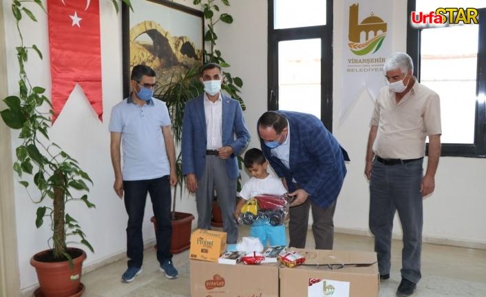 Viranşehir'de glütensiz gıda dağıtımı yapıldı