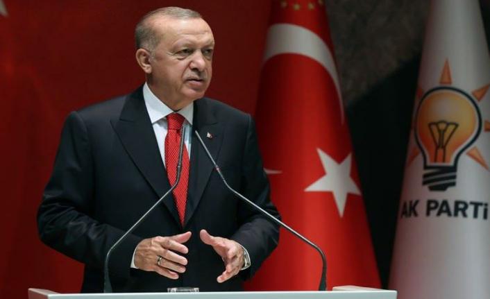 Erdoğan il başkanları toplantısında konuştu