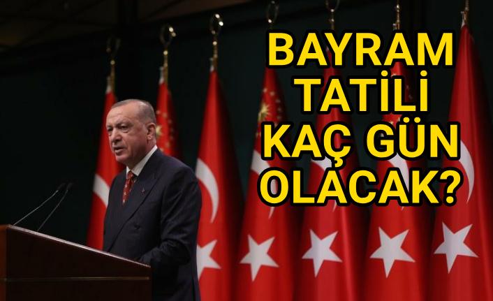 Erdoğan resmen açıkladı...