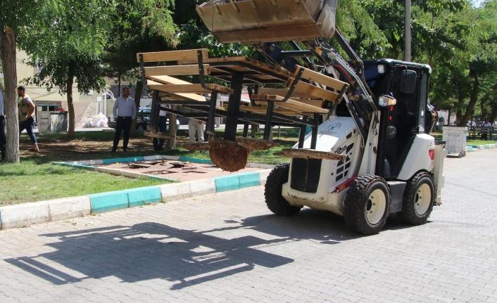 Haliliye'de 4 park daha yenileniyor