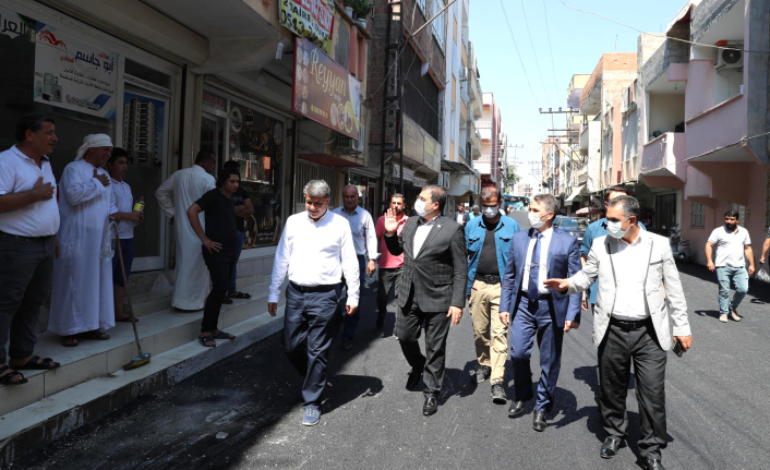 Haliliye'de asfalt çalışmalar tam hız sürüyor