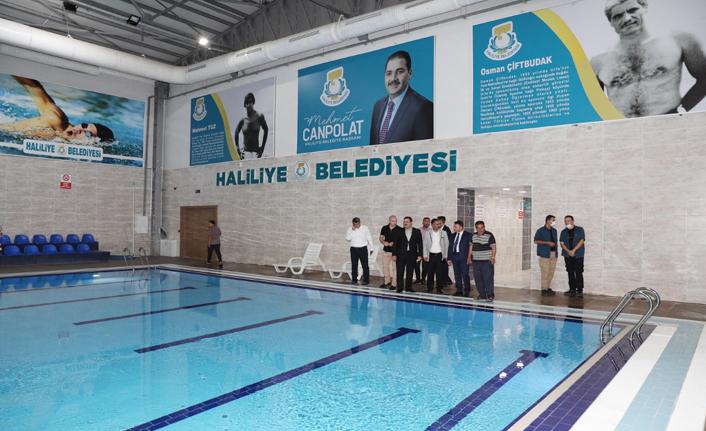 Haliliye'de hedef lisanslı sporcu yetiştirmek