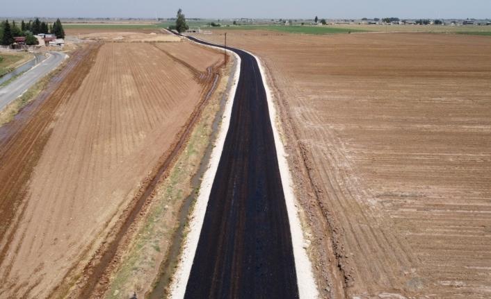 Harran'da yollar asfaltlanıyor