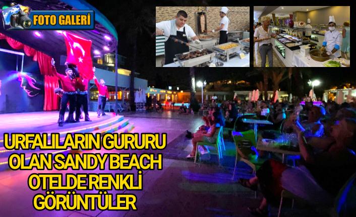 Sandy Beach Otelde Türk gecesi rüzgarı...