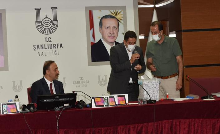 Urfa'da aşı çekilişinin kazananları belli oldu