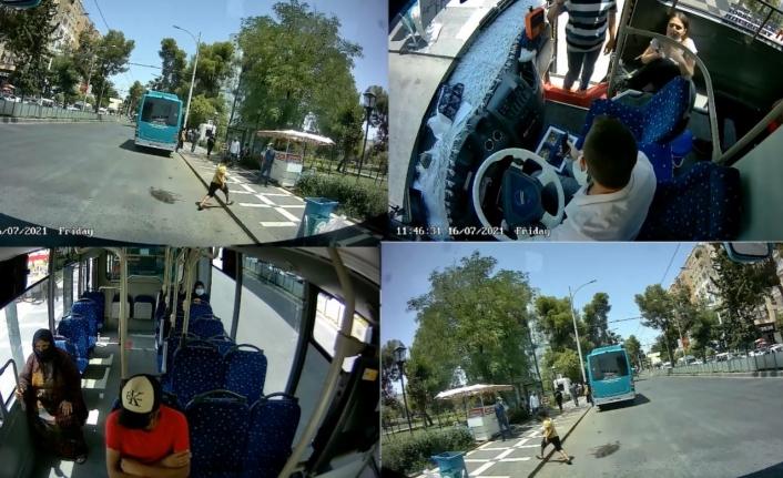 Urfa'da otobüste fenalaşan kadın hastaneye götürüldü