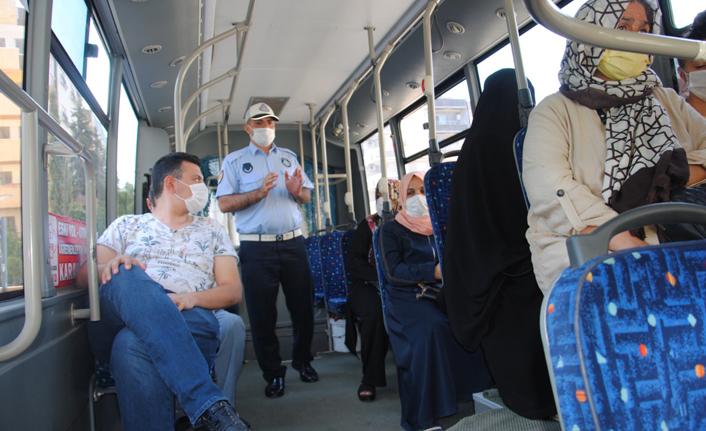 Urfa'da şehir içi araçlarında klima denetimi yapıldı