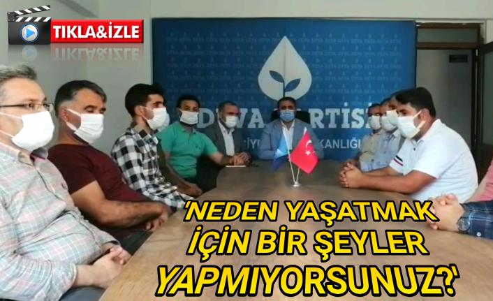 Urfa Deva Partisinden flaş açıklama!