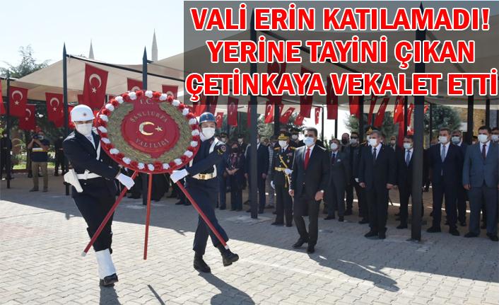 30 Ağustos Zaferi'nde şehitlik anıtına çelenk sunuldu