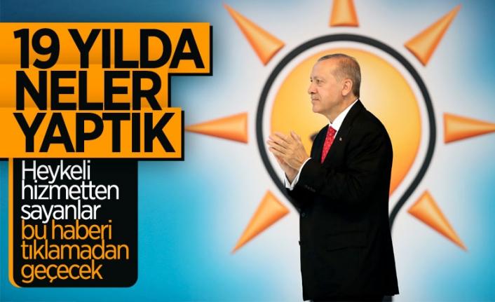 AK Parti 19 yılda neler yaptı?