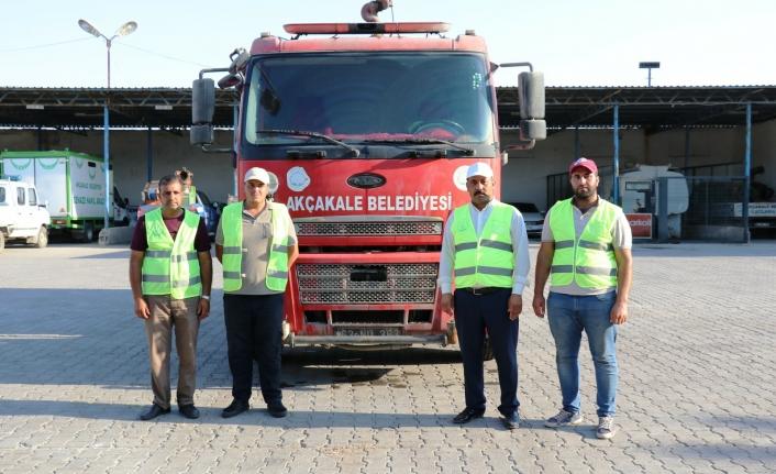 Akçakale'den Manavgat'a destek için yola çıktılar