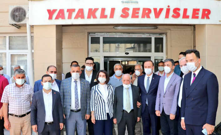 Balıklıgöl Devlet Hastanesi revize edildi