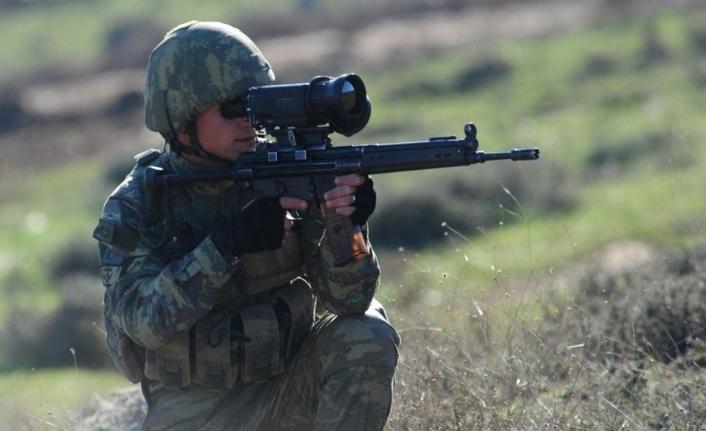 Barış Pınarı ve Fırat Kalkanı bölgelerinde 2 terörist öldürüldü