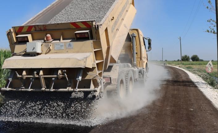 Büyükşehir Suruç'ta asfaltsız yol bırakmayacak